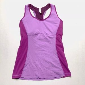 Lucy Athletic tank with Bulit in bra Size Large
